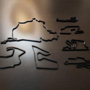 moottorirata miniatyyrit